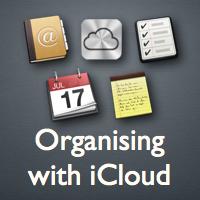 Organising with iCloud