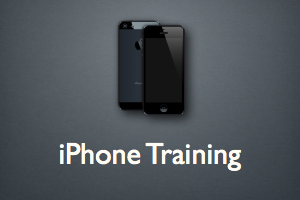 Apple iPhone Training